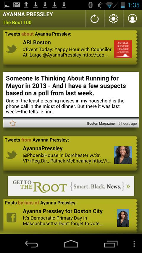Ayanna Pressley: The Root 100 - screenshot