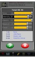 Screenshot of Wine Tracker Pro
