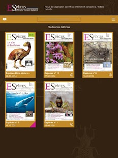 Espèces- screenshot thumbnail