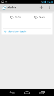 AlarMe - weather aware alarm- screenshot thumbnail