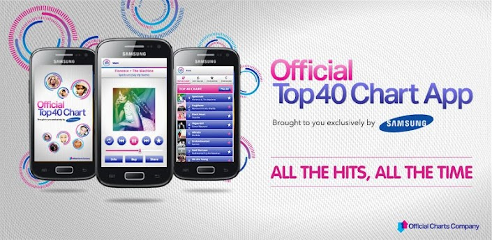 Official Top 40 Chart App