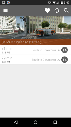 Los Angeles Metro and Bus Screenshot