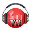 mp3 music download v8 icon