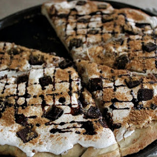 Chocolate Marshmallow Dessert Pizza Recipes.