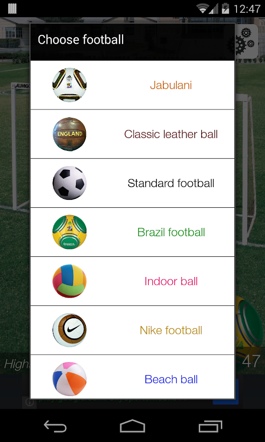 Keepy Ups - screenshot