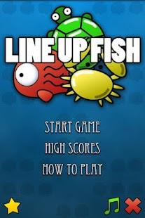 Line Up Fish