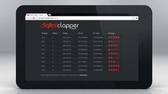 Digital Clapper- screenshot thumbnail
