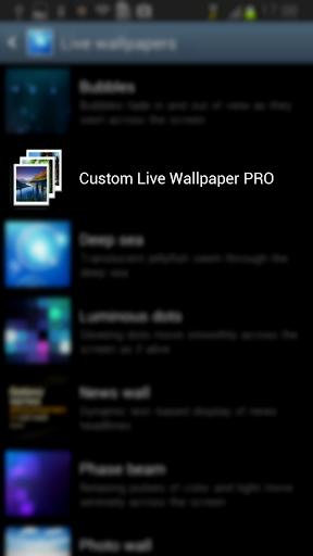 Custom Live Wallpaper PRO
