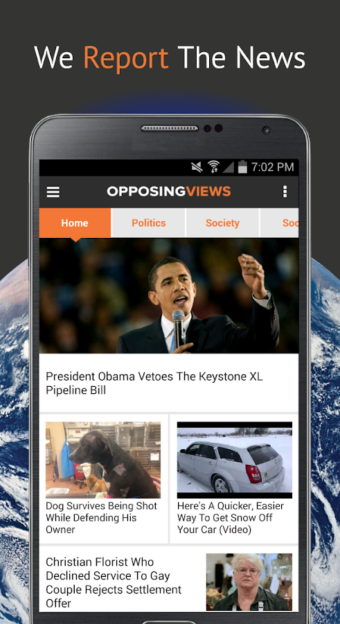 Opposing Views - screenshot