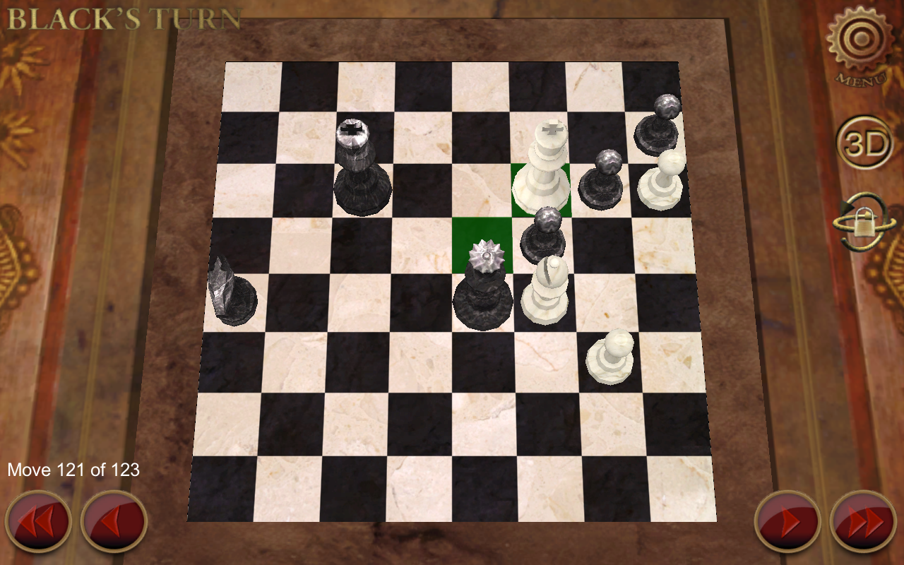 E.G. Chess- screenshot