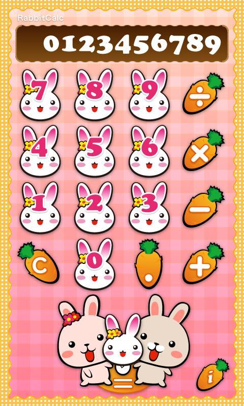 RabbitCalc- screenshot