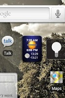 Screenshot of Dawn to Dusk Widget