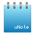 uNote notepad icon