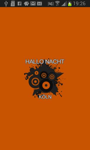 Hallo-Nacht Köln