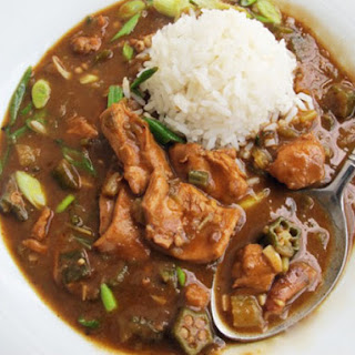 Quicker Chicken and Okra Gumbo