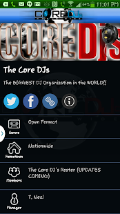 The Official Core DJs - screenshot thumbnail