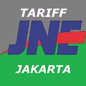 Tarif JNE - Jakarta