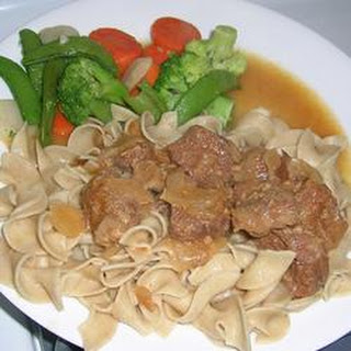 Cindy's Beef Tips