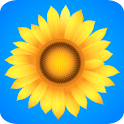 ♥ Sunflowers Free logo
