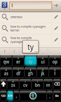 Screenshot of CyanogenMod Smart KB Theme
