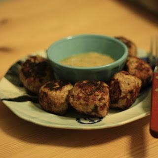 Frikadeller (Danish Meatballs) with Mustard Sauce