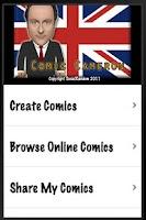 Screenshot of Comic Cameron