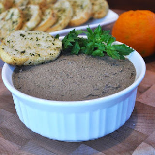 Super Budget Friendly Chicken Liver Pate'