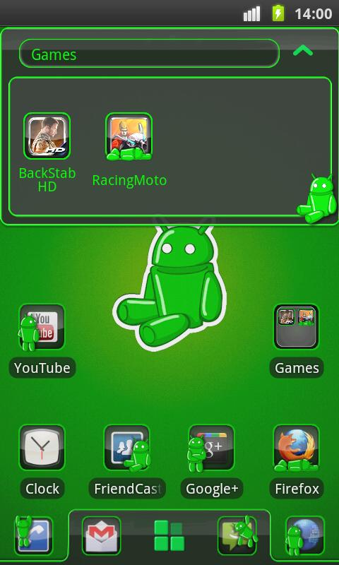 Andy Theme 4 GO Launcher EX- screenshot
