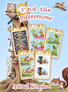 Find the Differences Animals- screenshot thumbnail