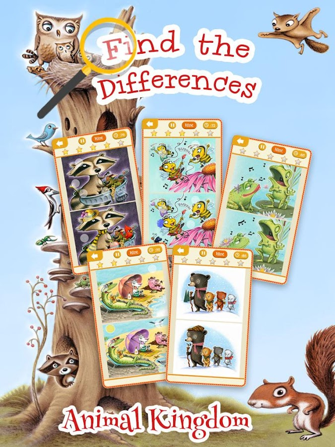 Find the Differences Animals- screenshot