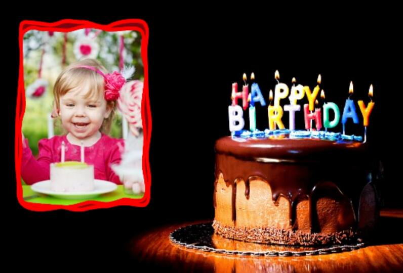 Birthday Cake Photo Frame Editor : Happy Birthday Photo Frames - Android Apps on Google Play