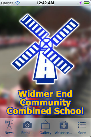 Widmer End School - screenshot