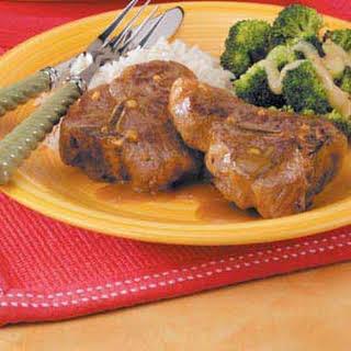 Curry Lamb Chops.