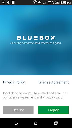 Bluebox Security