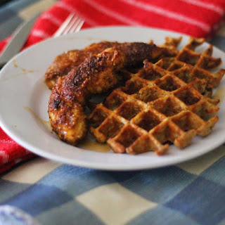 Paleo Chicken & Waffles