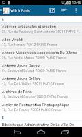 Screenshot of Wifi à Paris