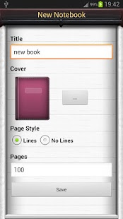 Notebooks Pro - screenshot thumbnail