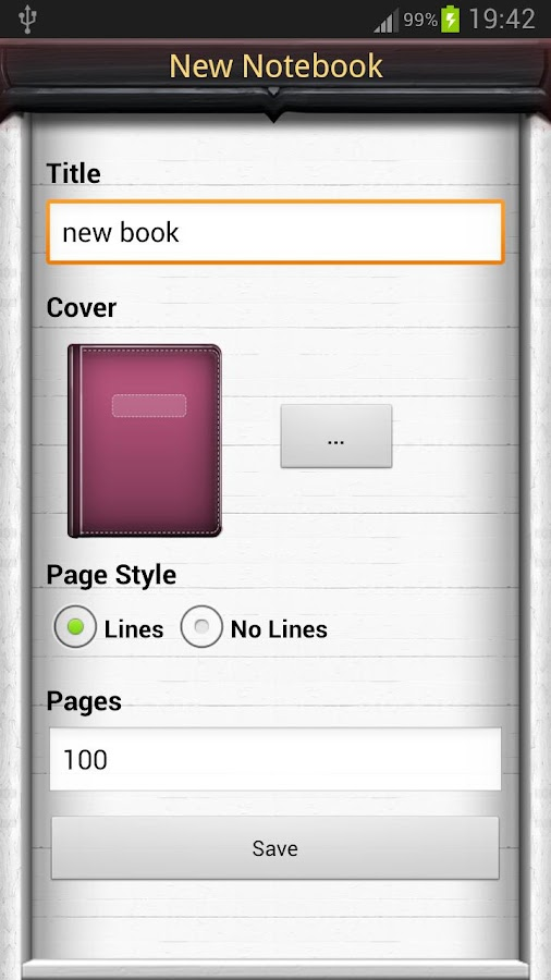 Notebooks Pro - screenshot