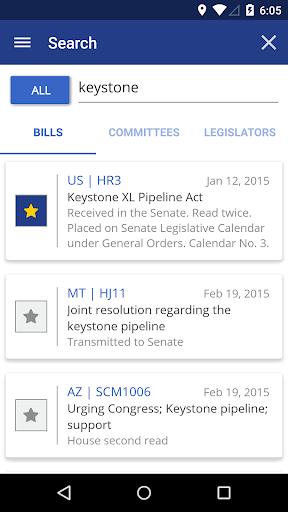 TrackBill: Legislation Tracker