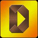 Dizzy Puzzle - Wooden Tangram icon