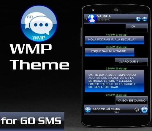 GO SMS PRO WMP THEME