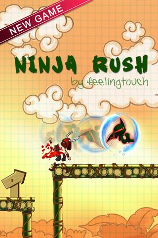 Ninja Rush HD- screenshot
