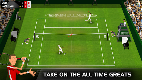 Stick Tennis Screenshot 27