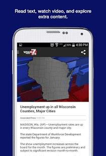 WSAW News - screenshot thumbnail