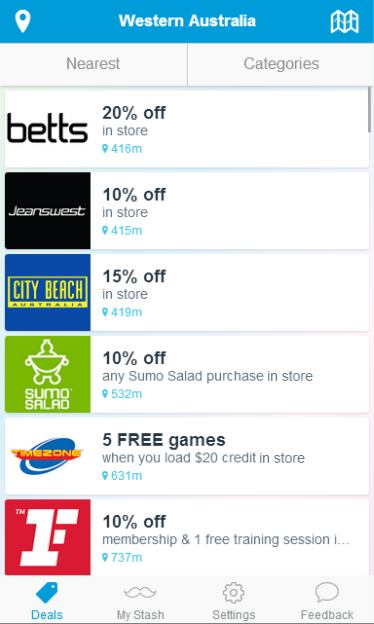 Student Edge Discounts & Deals - screenshot