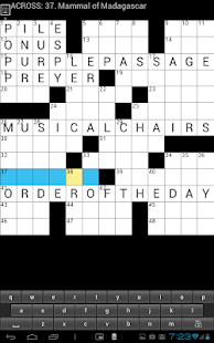 Crossword  Puzzle (US) game - screenshot thumbnail