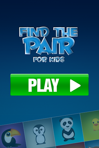 Find the Pairs for kids FREE