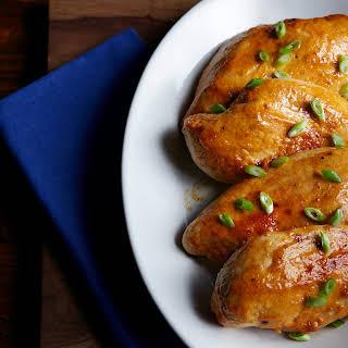 Succulent Grilled BBQ Chicken.