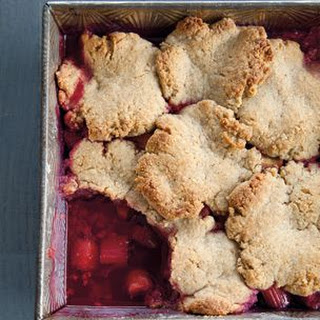 Raspberry-Rhubarb Pandowdy