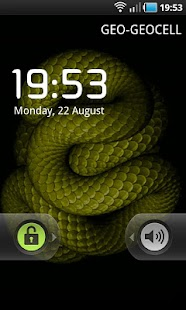 Animated Snake LWP - screenshot thumbnail